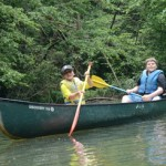 camp canoeing